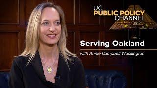 Serving Oakland with Annie Campbell Washington -- In the Living Room with Henry E. Brady