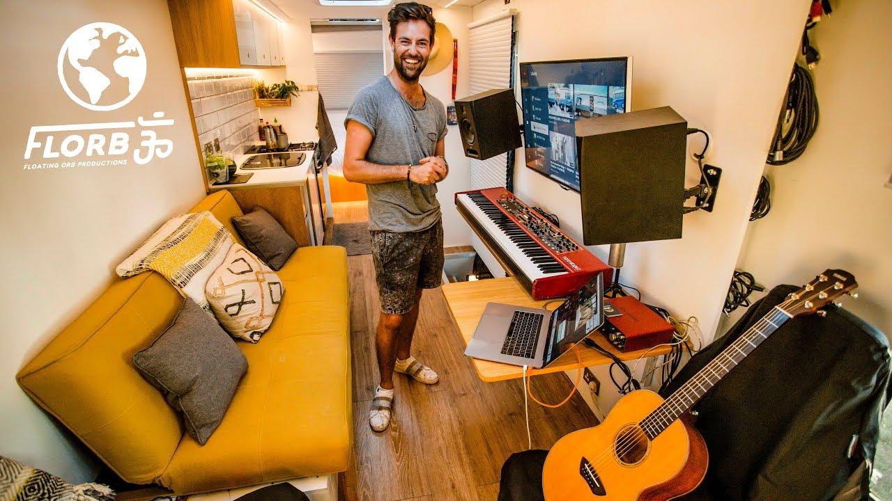 Mobile Music Studio Tiny Home Youtube
