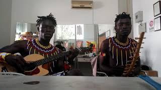 Bow Harp ''Adungu'' Vs Guitar