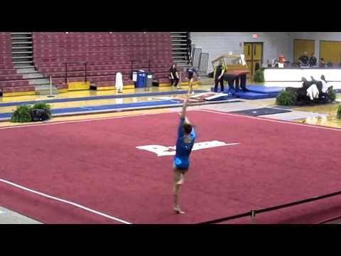 Floor level 10 Kathleen York: Kurt Thomas Gymnastics