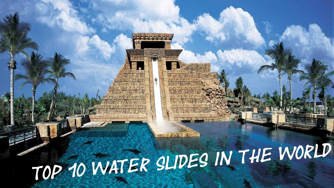 Worlds coolest water slides
