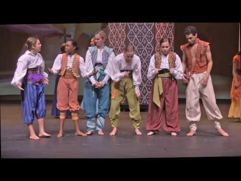 2018 Aladdin Jr. Senior Cast (7th - 12th grade)