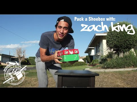 Zach King Packs an Operation Christmas Child Shoebox! - YouTube