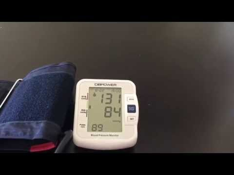 dbpower-upper-arm-blood-pressure-monitor-with-ihb-and-who-indicator,-cuff-8.7---16.5-inch