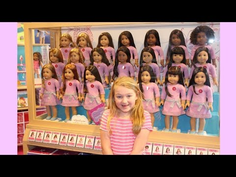 SURPRISE VISIT TO AMERICAN GIRL ORLANDO