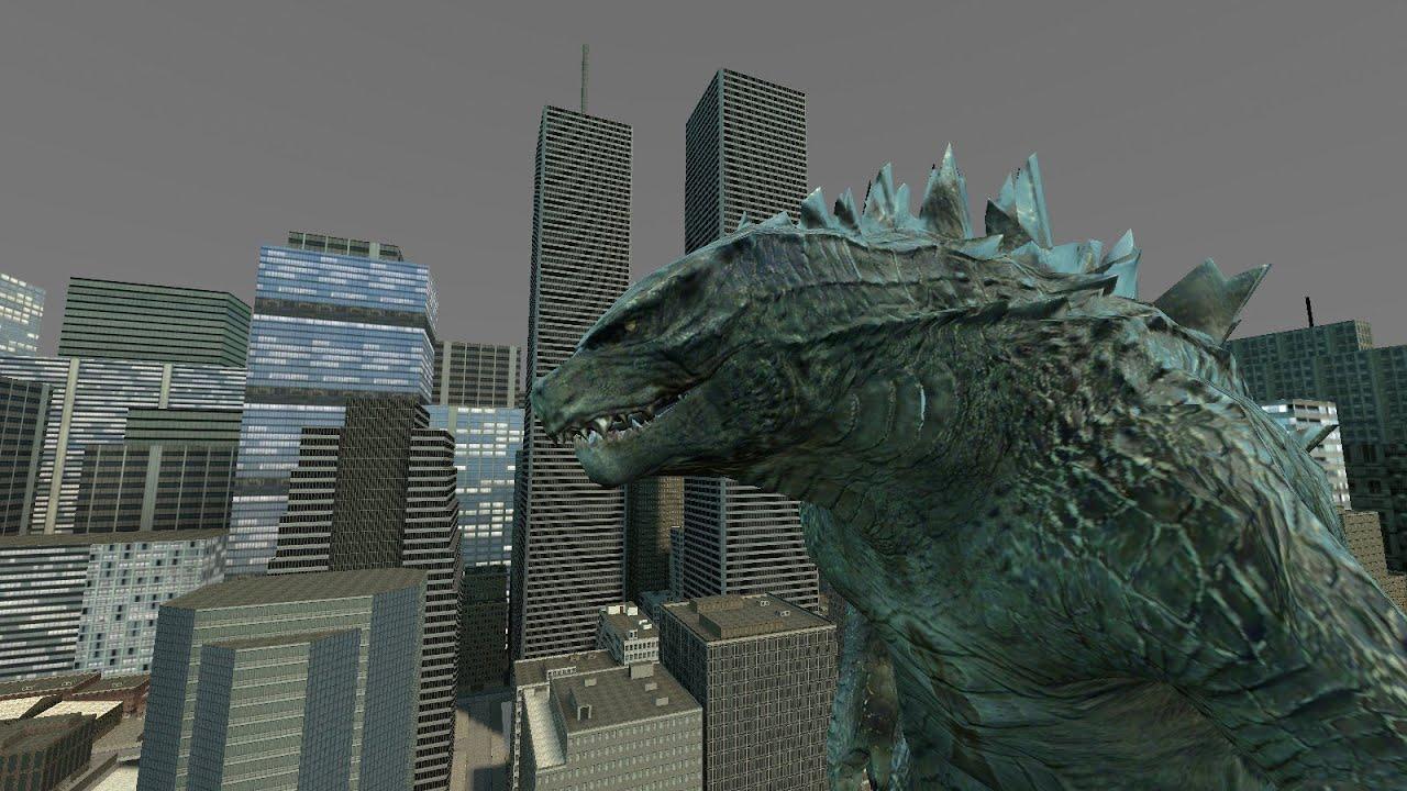 Godzilla Vs MUTO Trail...