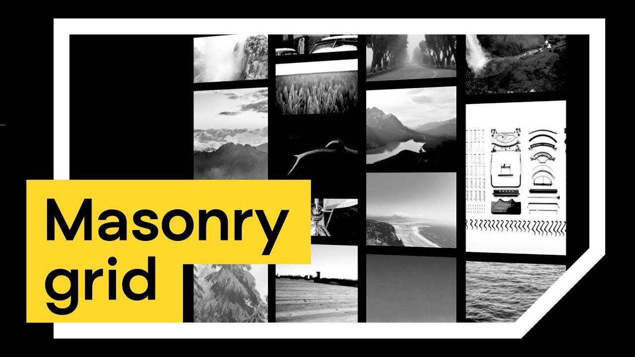 Galeria zdjęć Masonry Grid [JavaScript, Macy js] 😱Opowieści, skrypty #34