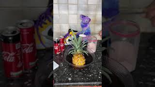 CRAZY Pineapple DIY Life Hack!  #shorts