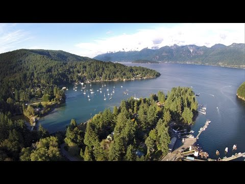 Bowen Island - Aerial Views 2015