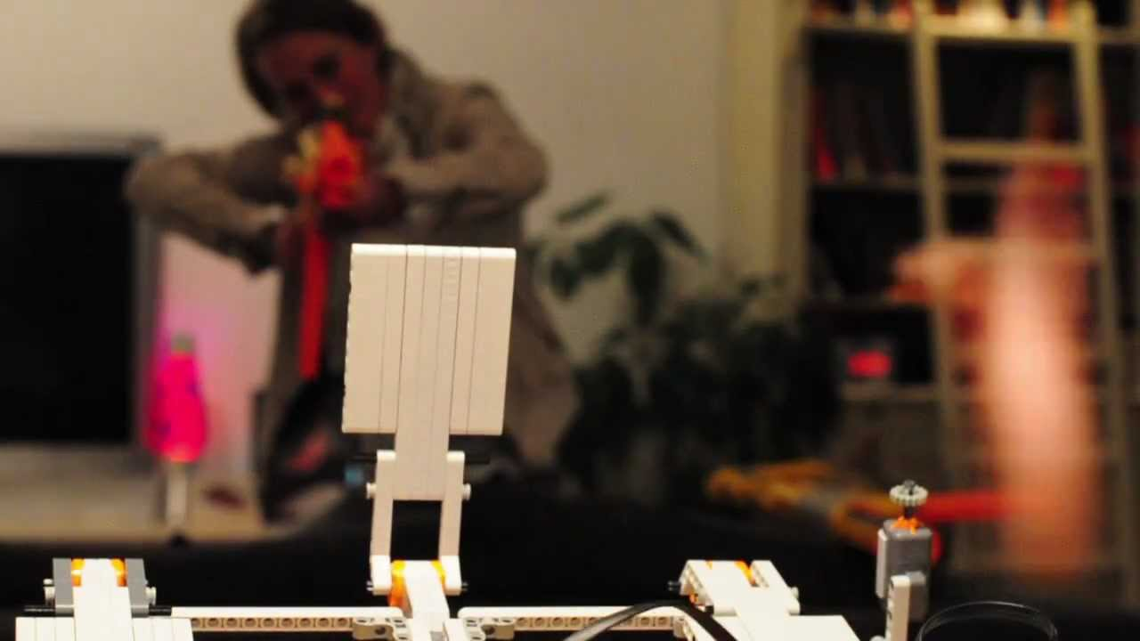 Lego Mindstorm NXT and Nerf Gun turns into cool Shooting Range