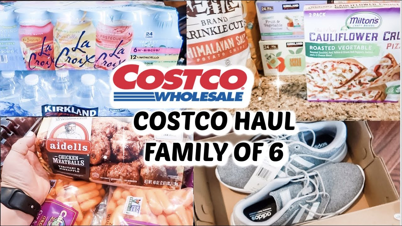 *NEW* COSTCO HAUL // FAMILY OF 6 // Mama Approved