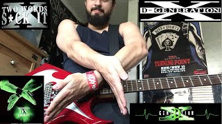 "D-Generation X ""Break It Down"" WWE theme guitar cover"