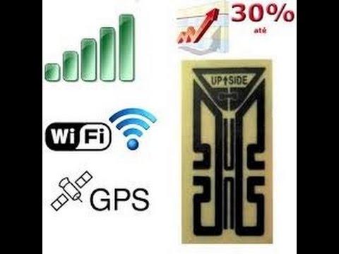 Aumente o Sinal 3G 4G Wifi GPS de Smartphone e Tablet