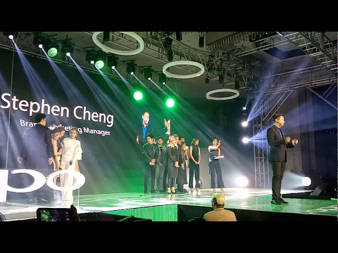 OPPO F3 Launch: Stephen Cheng