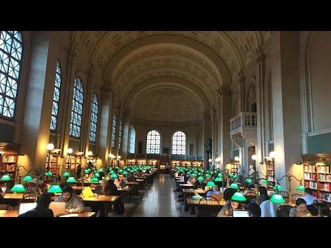 BOSTON PUBLIC LIBRARY! | VLOGMAS DAY 15