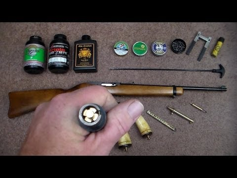 Ruger 10/22 Muzzleloading Barrel Conversion