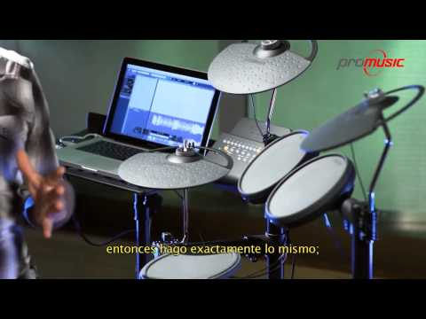 Yamaha DTX400 Bateria Electronica Español