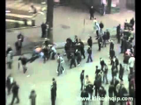Killed in Albania LIVE Vrasjet ne demostrate. 21.01.2011
