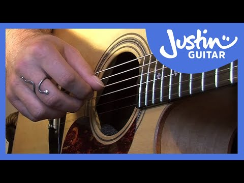 Waltzing Matilda Chords Melody Justinguitar