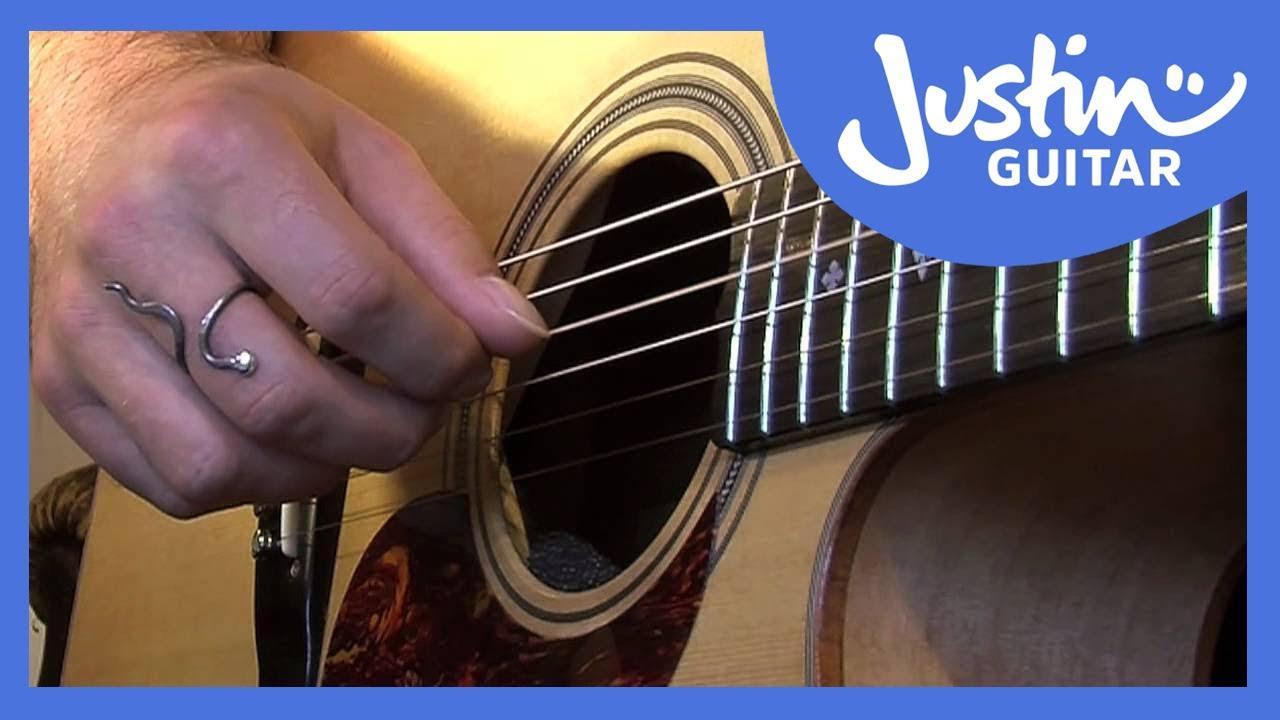 Happy Birthday Chord Melody   JustinGuitar com