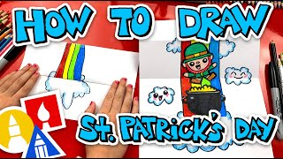 How To Draw Sт Patricks Day Folding Surprise + Challenge Time