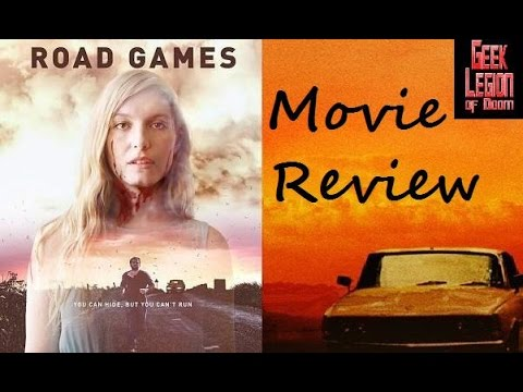 ROAD GAMES ( 2015 Barbara Crampton ) Horror / Thriller Movie Review