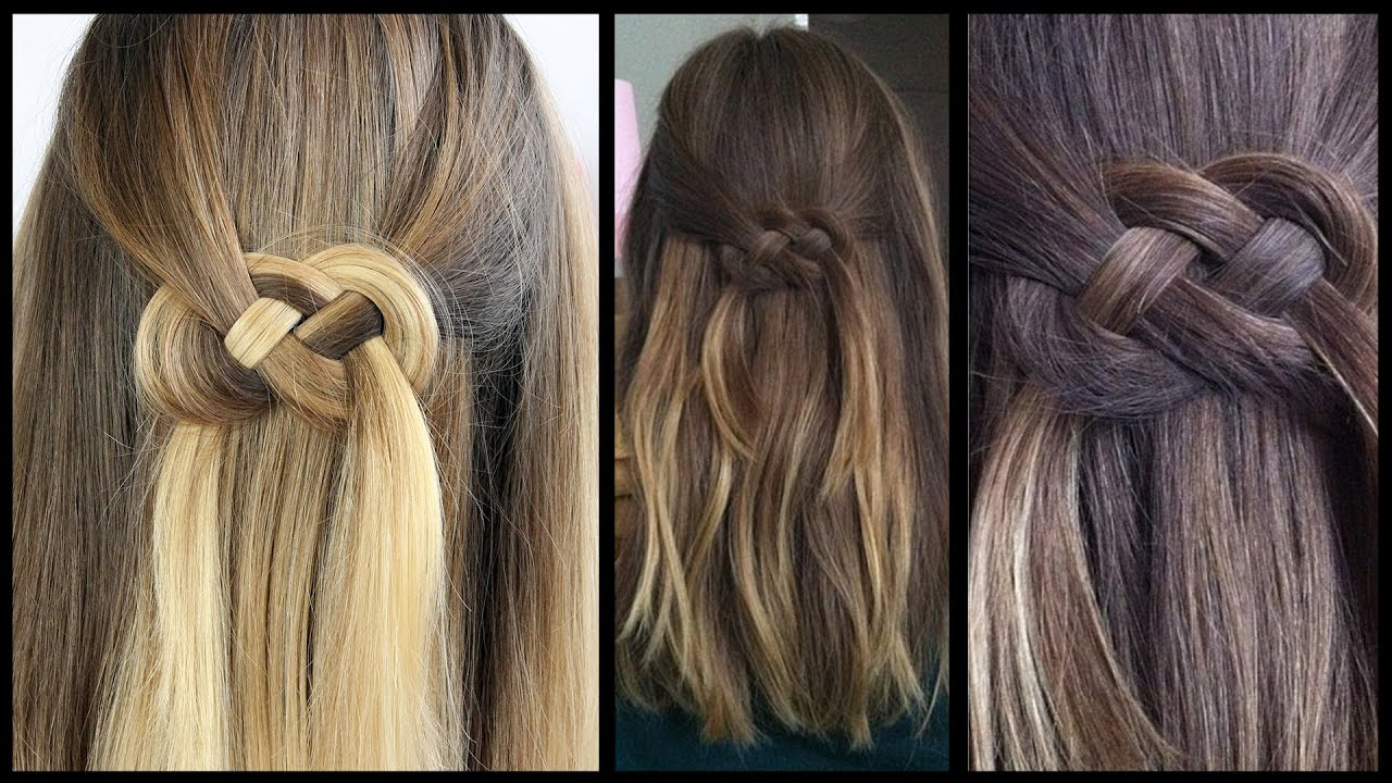 Infinity braid Frisuren Freitag  YouTube