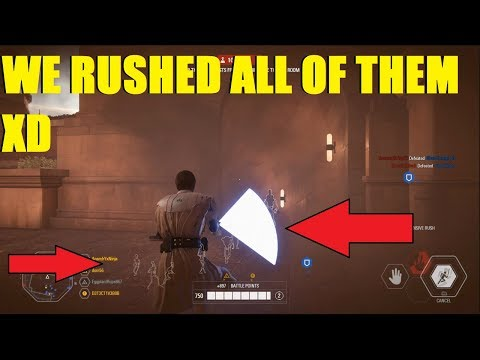 Star Wars Battlefront 2 - General Kenobi defends the palace on Theed! | Obi Wan Kenobi Killstreak!