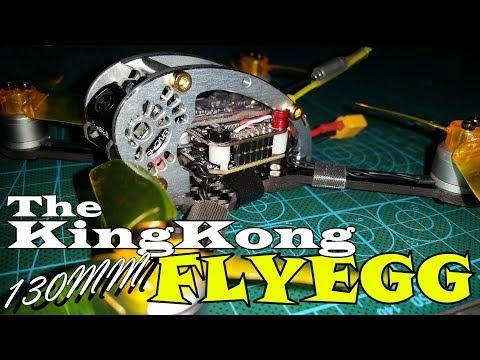 King Kong FLY EGG 130 - Unbox - Review - Setup - Flight Tests