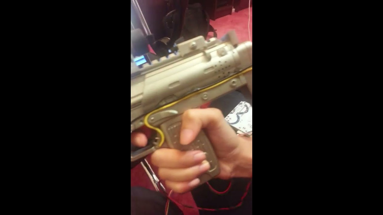 Create a gun joystick with arduino using unity vuforia