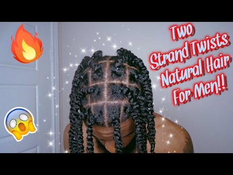 gorgeous-two-strand-twists-on-natural-hair!!-😍-|-black-seth