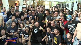 Seth Rollins soaks up Shanghai's culture