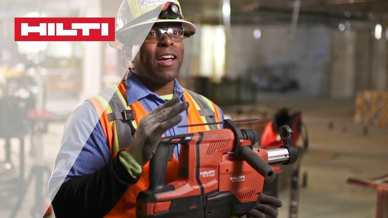 introducing the hilti te 6 a36 cordless rotary hammer. Black Bedroom Furniture Sets. Home Design Ideas