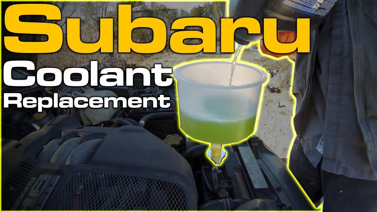 Subaru Coolant Replacement