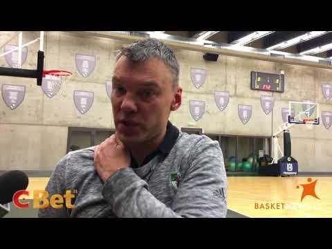 """Šarūnas Jasikevičius: """"Dabar reikia rodyti geriausią krepšinį"""""""
