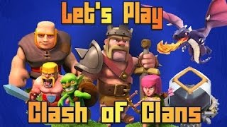 3.Folge Let's Play Clash Of Clans; Ritter Paul+neuer Clan!