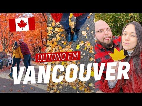 VLOG | VANCOUVER no OUTONO! Downtown, Stanley Park, Gastown + meu restaurante favorito 🍁