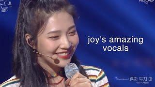 Joy's Amazing Vocals