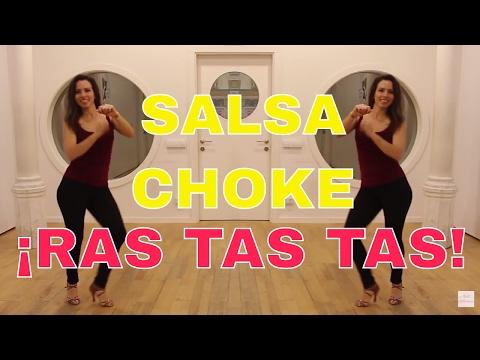 RAS TAS TAS 2017 - COMO BAILAR SALSA CHOKE TAS TAS - APRENDER A BAILAR SALSA CHOKE