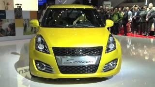 Suzuki Swift S Concept 2011 Videos