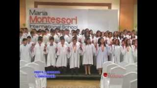 Maria Montessori Intl School Class 2009-2010 Graduation Song. OFFICIAL