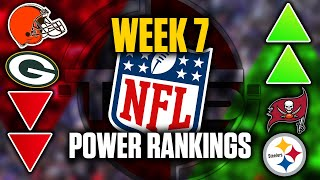 The Official 2020 NFL Power Rankings (Week 7 Edition) || TPS