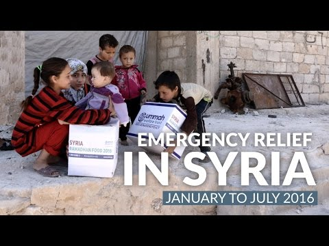 Summary of Relief Efforts in Syria (Jan to July 2016)