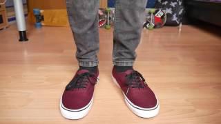Vans Authentic PORT ROYAL - On Feet