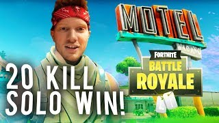 20 KILL SOLO WIN (CRAZIEST FIGHTS)