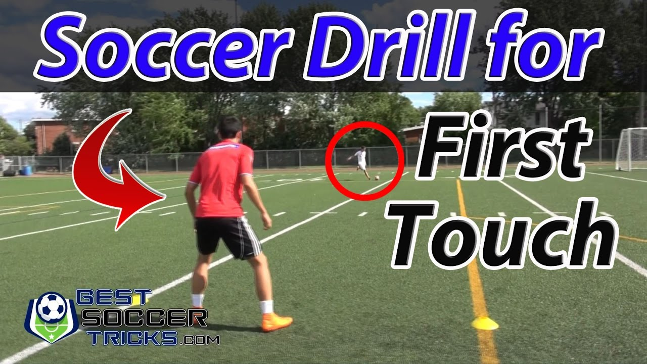 easy soccer drill to improve your first touch and control youtube youtube