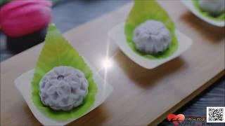 中秋節  創意冰品【芋仔冰月餅】ღ開心料理