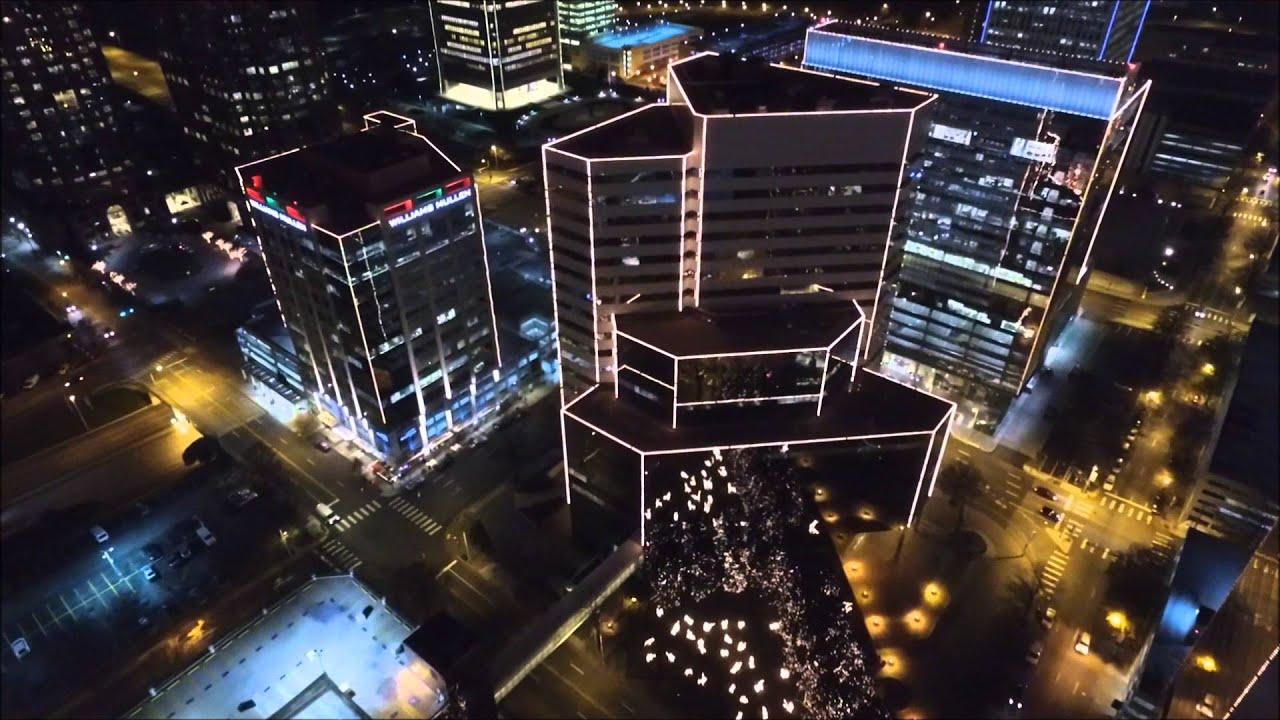 Dji Phantom 3 Christmas Lights In Richmond Virginia