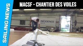 Les voiles MACSF - Les chroniques de chantier