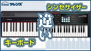 【キーボードとシンセサイザーの違い】JUNO-DSとGO:PIANOで解説!